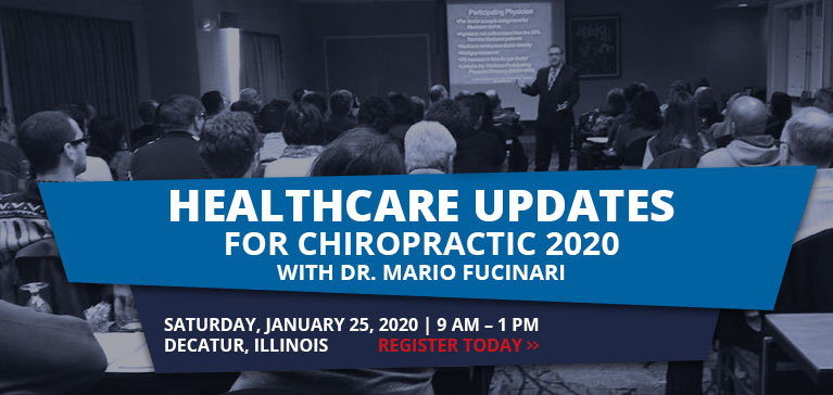 Healthcare Updates for Chiropractic 2020