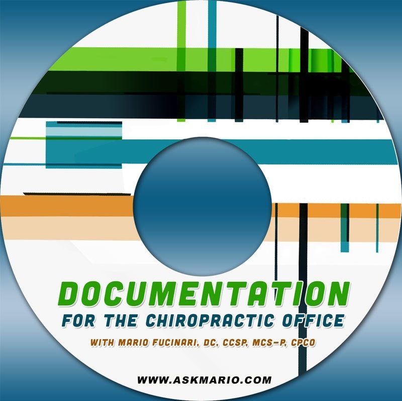 Documentation for the Chiropractic Office DVD